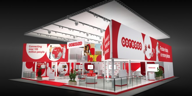 Photo Stand Ooredoo au Mobile World Congress