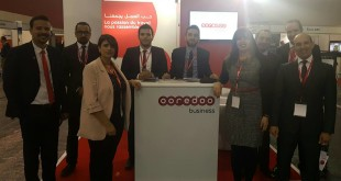 Photo Ooredoo au Salon NAITEC