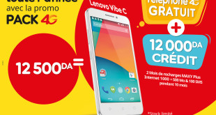 Photo - Ooredoo lance sa nouvelle offre promotionnelle Pack 4G