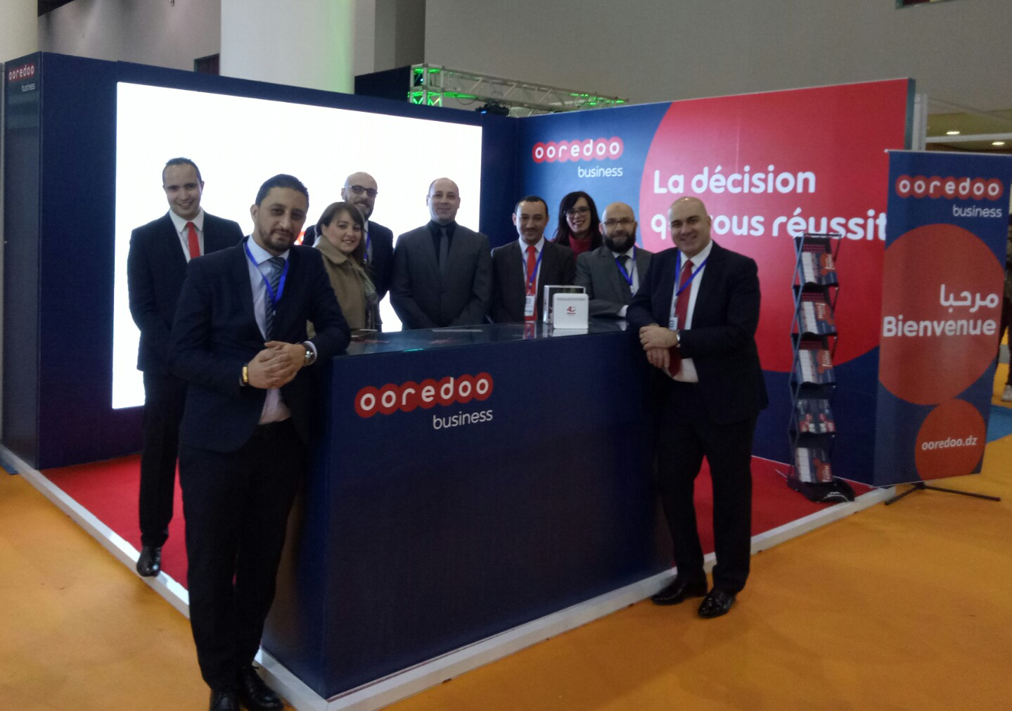Ooredoo pr sente ses solutions et innovations au salon for Salon e tourisme